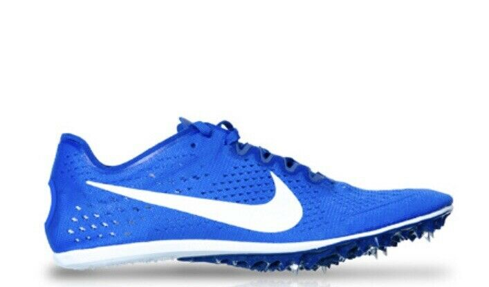 Nike Zoom Victory 3 Men's Spikes Track shoes 835997 411 bluee White Size 11
