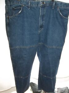 ad114ba3323 Details about Dickies Men's Double Knee Carpenter Jeans Size 44x30 NICE!!