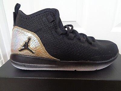 Nike Jordan revelan Q54 BG ZAPATILLAS 866036 001 UK 5.5 EU 38.5 nos 6 y usado