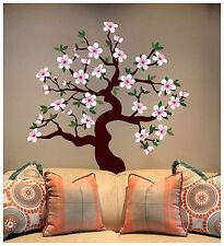 Matte Finish - CHERRY BLOSSOM TREE  Wall Decal Deco Art Sticker Mural