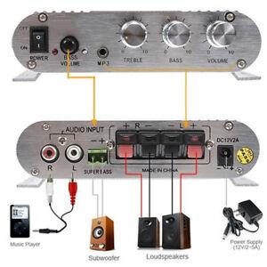 Para-el-Coche-Casa-2-1-Amplificador-Estereo-Impulsor-MP3-300W-Nuevo-Inteligente