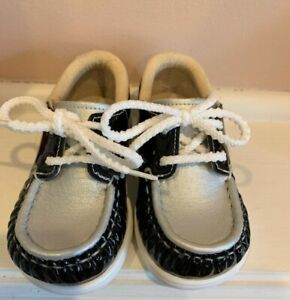 SAS Baby Girl Black Patent Leather and