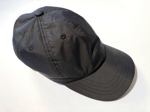 Our Legacy Black Nylon Ball Cap Hat