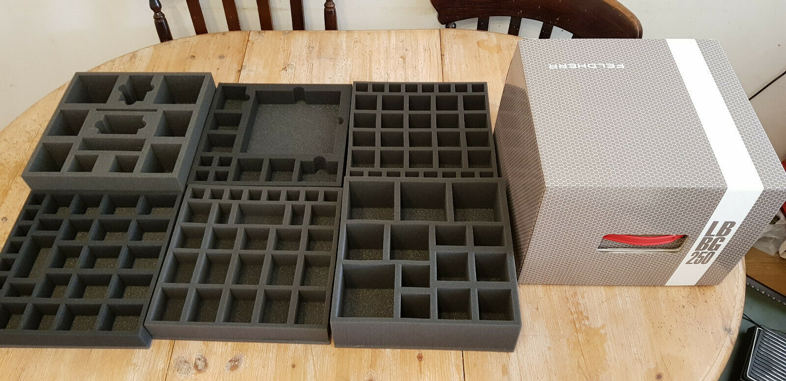 Mansions of Madness & Expansions Feldherr Foam Inserts Bundle With Storage Box