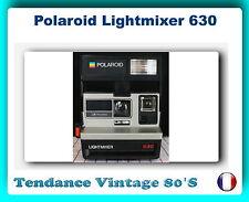 *** APPAREIL PHOTO POLAROID LIGHTMIXER 630 - OBTURATEUR ELECTR /  FONCTIONNE ***