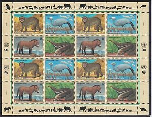 ONU vienne 1997 cachet MiNr. 222-225 espèces menacées-afficher le titre d`origine g77Bx4x4-07154039-178851210