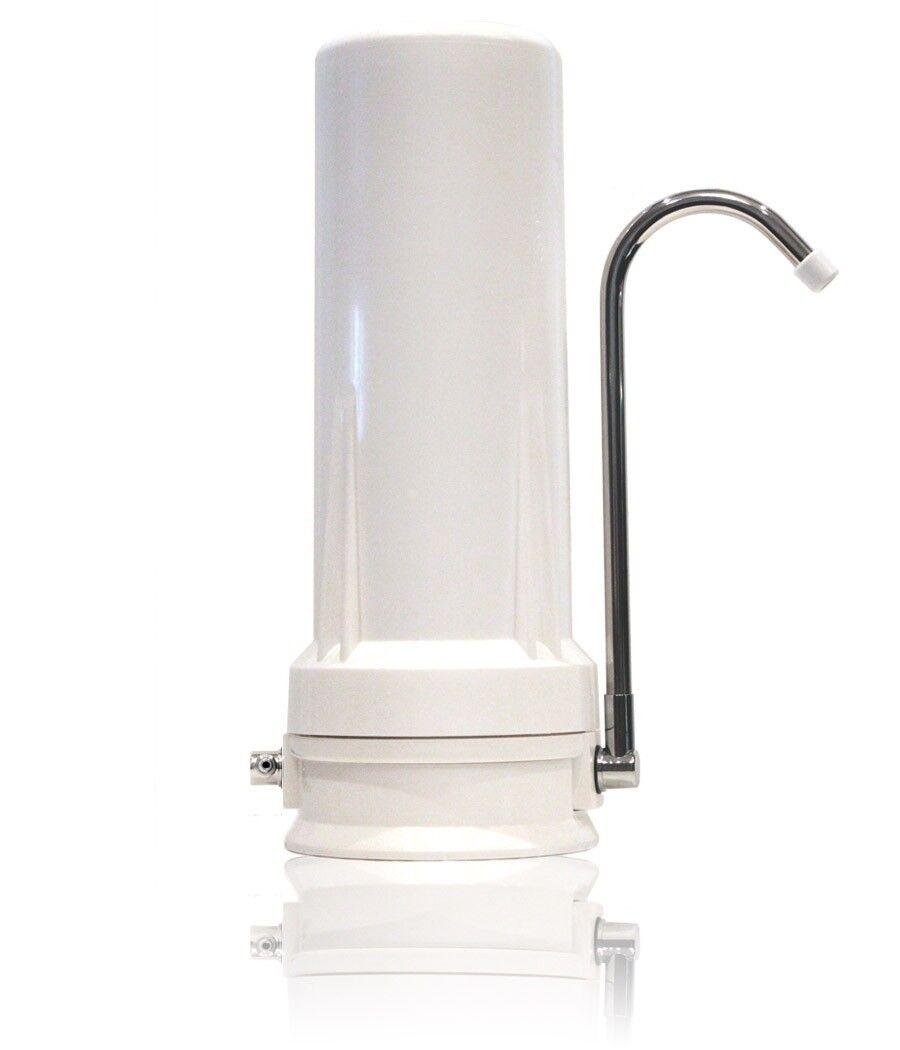 FLO Alkaline Water Ionizer New Sealed White Plastic Metal Healthy Clean