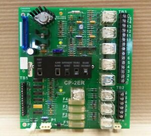 Cerberus-Pyrotronics-CP-2ER-580-193485-4-Fire-Control-Circuit-Board