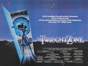 Image result for twilight zone the movie film poster