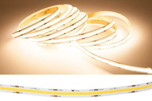 Brighest LED Strip COB 3000K 4000K ETL Power Supply Option for cabinet Wall