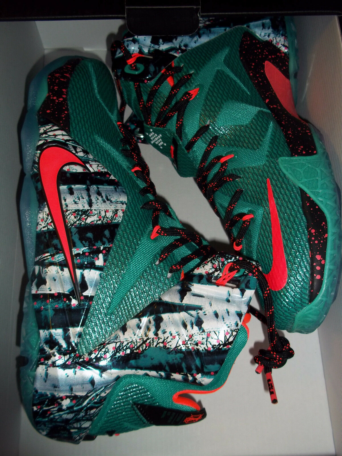 Men's Nike Lebron XII XMAS Comfortable Casual wild