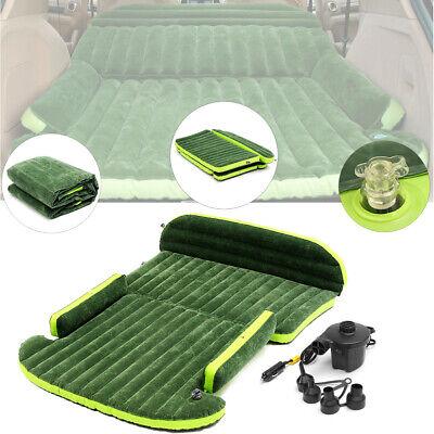 6x4 Ft Inflatable Mattress Cushion SUV Air Bed Car Back Seat Camping Sofa