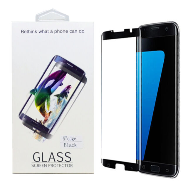 big sale 3504b fbb6b Case Friendly Tempered Glass Screen Protector Clear for Samsung S7 Edge