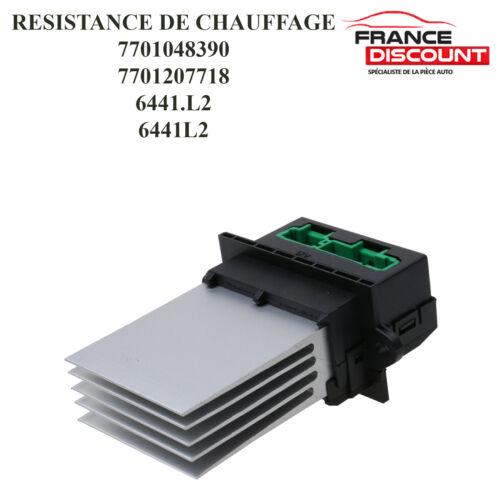 RENAULT CLIO III Résistance De Chauffage Climatisation pour PEUGEOT 1007 607