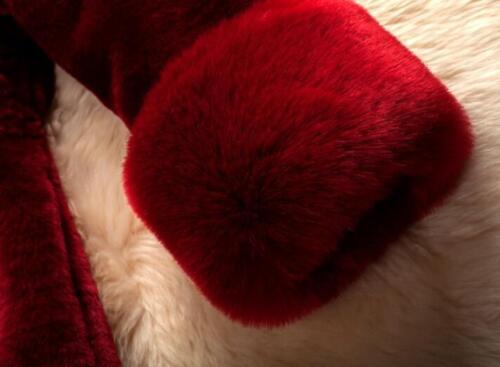 Lang Luksus Frakke S Varm Outwear 5xl Jakke Parkas Vinter Fur Kvinder Faux Retro wxXRUq6