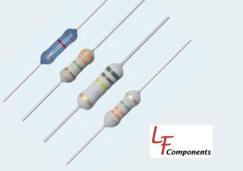 25 Piece Lot 200K Ohm 2 Watt 5/% Metal Oxide Resistor 282-200K-RC