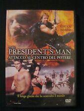 President's Man - Attacco al centro del potere (2002) CHUCK NORRIS - DVD