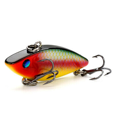 Diving Crankbaits Fishing Lure Trolling Rattle Bait Sinking Hard Lures 2pcs//Lot