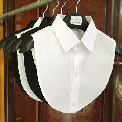 Unisex women men Lady Party Office Fake False Collar Handmade Choker Necklace