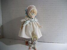Antique German Bisque Bonnet Swivel Head Doll W/ Tiny Bonnet Head Dolly!!!