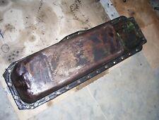 Vintage Oliver 1550 Diesel Row Crop Tractor Engine Oil Pan Amp Drain Plug