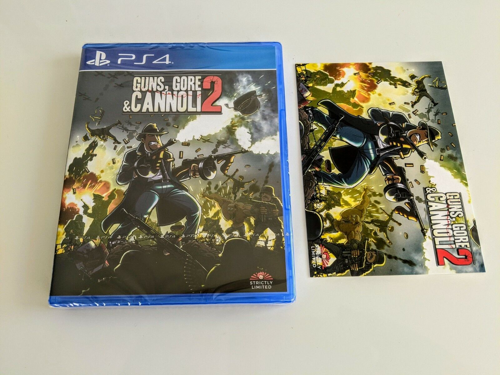 Guns, Gore & Cannoli 2 - PS4 - SLG Strictly Limited Games II NEW Playstation 4