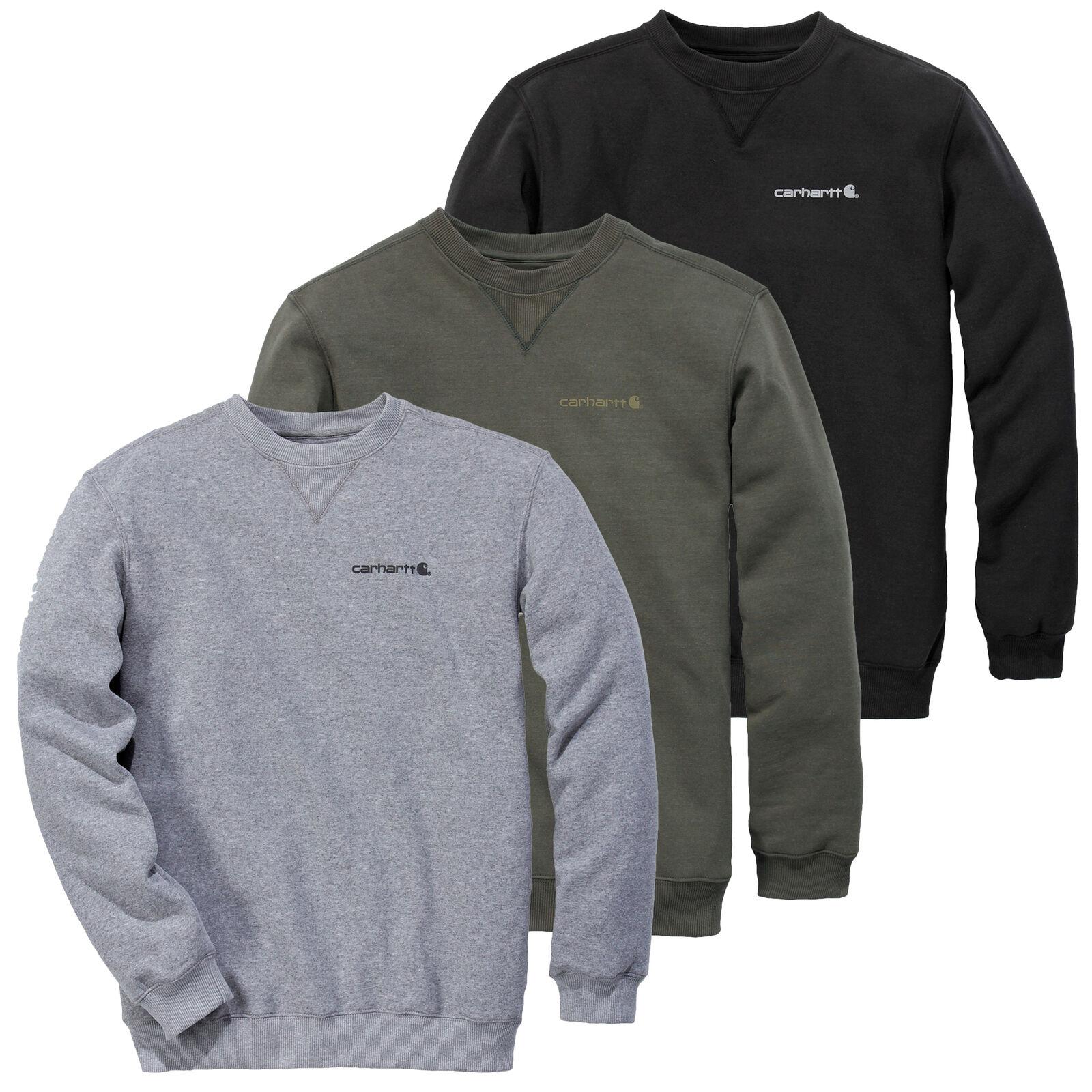 Carhartt Maglione Uomo Grafico Maglione Pullover Pullover Pullover Girocollo S M L XL XXL Nuovo 6e5dff
