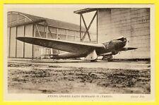 cpa Aérodrome LE BOURGET Aviation Avion MONOPLAN BERNARD 80 Moteur Hispano Suiza