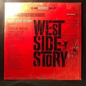 West Side Story Original Soundtrack (Columbia OS 2070) LP VG++/VG+ In Shrinkwrap