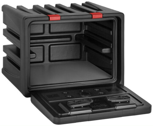 LKW Staukasten Werkzeugkasten aus Kunststoff 600x450x470mm Black Dog Lago 160360