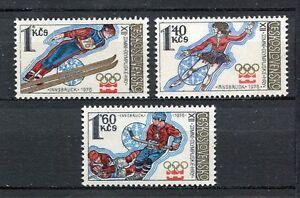 33245-CHECOSLOVAQUIA-1976-MNH-Olimpico-G-Innsbruck-3v