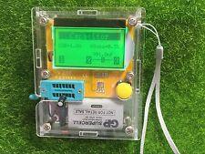 NEW LCR-T4 Mega328 Transistor Tester Diode Triode Capacitance ESR Meter MOS PNP