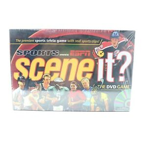 Scene-It-Sports-Powered-by-ESPN-The-DVD-Game-Sports-Trivia-Brand-New-Sealed