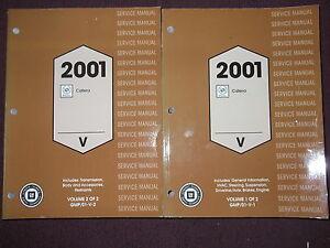 2001 cadillac catera service shop repair workshop manual set brand rh ebay com 1999 cadillac catera manual 1999 cadillac catera manual
