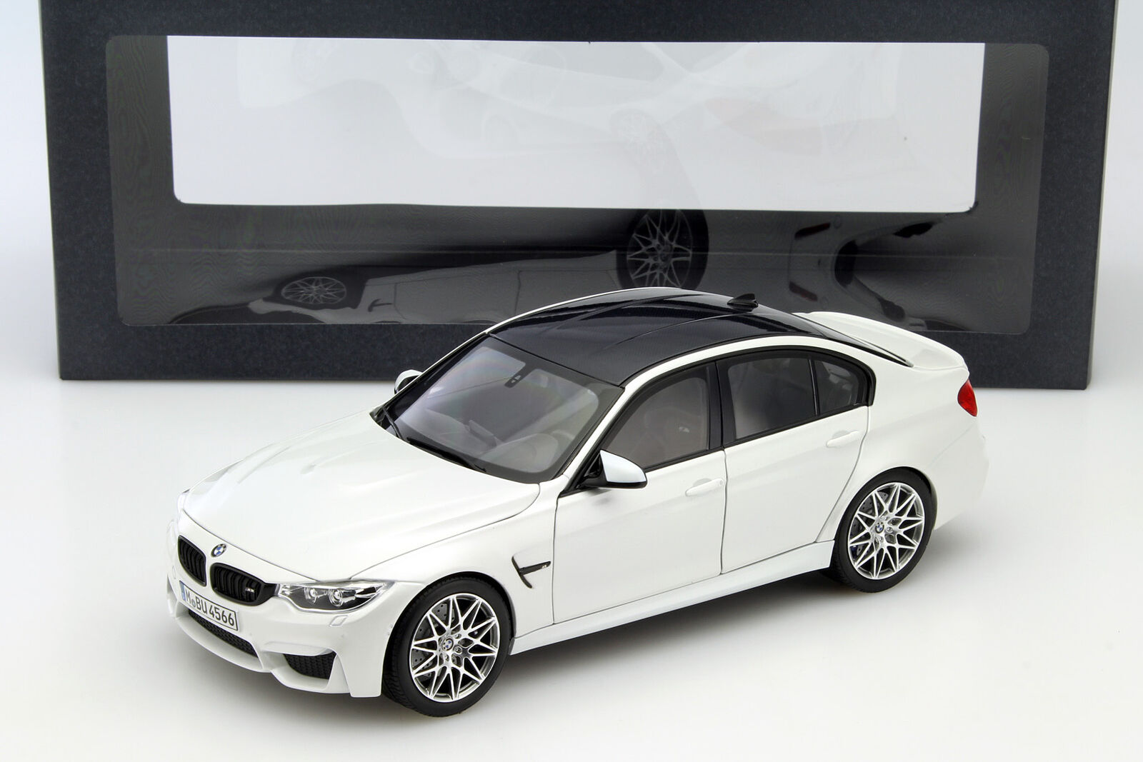 BMW m3 f80 COMPETITION Année Modèle 2016 minérale blanc 1:18 Norev   Pour Gagner Un Haut Admiration Et Est Largement Trusted Et à L'étranger