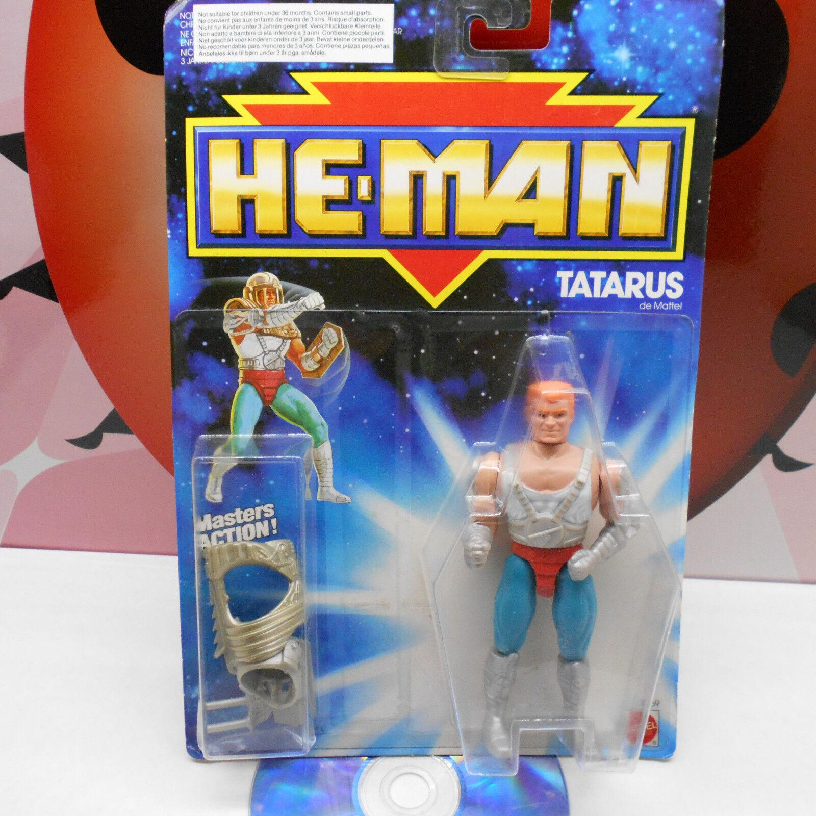 He-man tatarus kayo   3369 heldentaten - actionfigur mattel motu jahrgang 1989