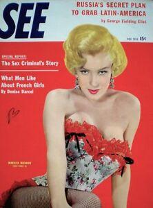 Marilyn Monroe Magazine 1954 SEE Bernard Of Hollywood 20th Century Fox VG/EX