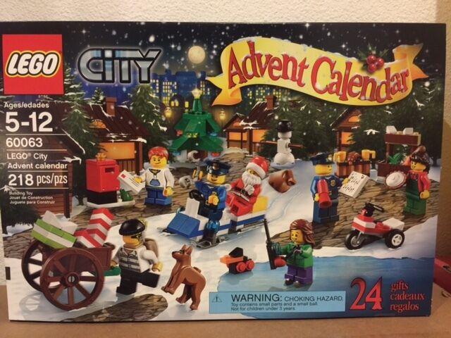 Buy Lego City Advent Calendar 60063 Christmas 2014 Factory Online Ebay