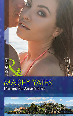 """AS NEW"" Married For Amari's Heir (One Night With Consequences, Book 9), Yates,"