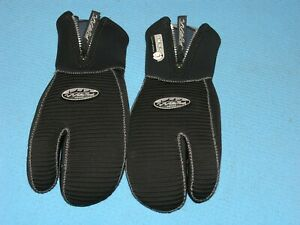 Waterproof halbtrocken Neoprenhandschuhe 7mm, Typ Dreifinger-Handschuh, Gr. L ,§