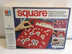 Square-von-MB-Strategiespiel-Raritaet-von-1976-guter-Zustand-selten-Kult-RAR