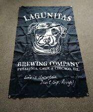 LAGUNITAS Brewing Company American Beer Dog Pirate Flag, Banner - New