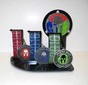 Spartan Race Trifecta Medal Display Ocr Race Made For