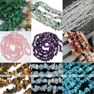 Natural-Crystal-Rose-Quartz-Gemstone-Freeform-Chip-Beads-Charm-Jewelry-Findings