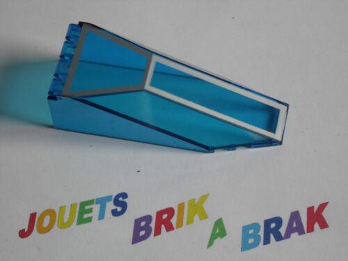 Lego pare brise Windscreen 10 x 4 x 2 1//3 Canopy 10x4 x2 Choose model ref 2507