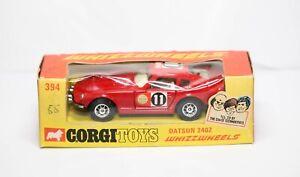 Corgi-394-Whizzwheels-Datsun-240Z-En-Su-Caja-Original-Casi-Nuevo-Modelo-Vintage