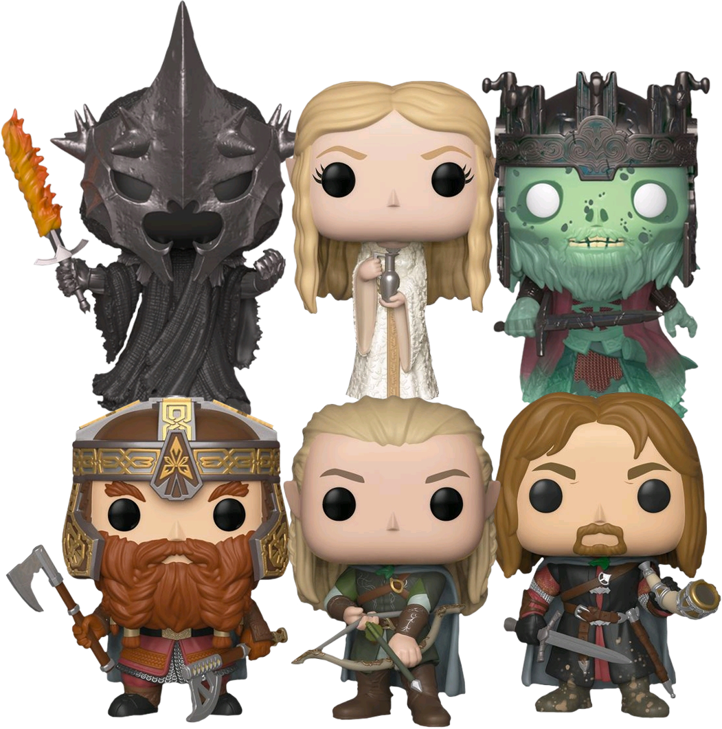 FUNKO POP  The Lord of the Rings ( SET OF 6)