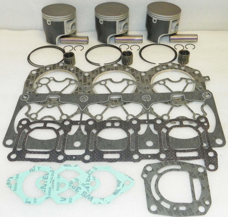 Top End Rebuild Set .50 Yamaha 1100 1100 1100 Venture Raider Wsm Platinum 010-827-22P 0aedde