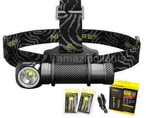 Nitecore-HC30-LED-1000-Lumen-Headlamp-2-x-18650-Batteries-Charging-Kit