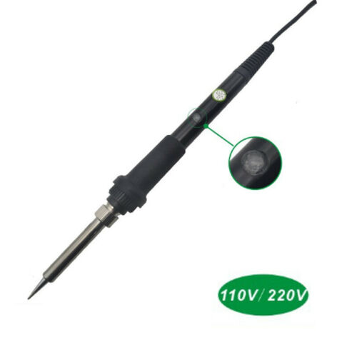 Pure Black Temperature-regulating Iron High-gloss Adjustable Soldering Iron